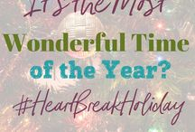 HeartBreak Holiday Series / Do the Holidays make you sad? Posts about feelings, memories and the hard things around the Holidays. Find encouragement and hope in Jesus during this time!