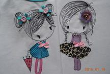 рисунки на одежде