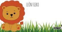 Molde León Fiero / http://www.goma-eva.es/molde-leon-fiero/
