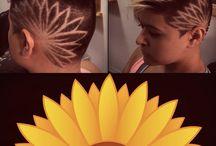 Hair tattoos