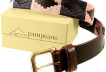 Pampeano / Polo belts. Argentine leather belts hand crafted and weave are stunning and beautiful. A fantastic splash of colour to any outfit.