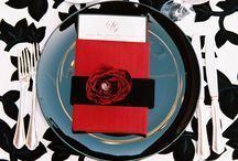 Wedding | Red & Black / by Taylor Made Soirées