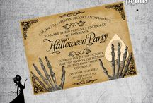 Print design - Invitation - Halloween