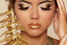 Gouden Makeup