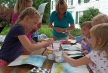 Youth Watercolor Class / July 29 at 10:00 am – 12:00 pm. Petals 'n Paint with instructor Plein Air Artist Megan Swoyer-Garbinski  Must register in advance. CALL: 248-524-3570 to register