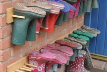 gumboot/shoe storage
