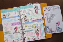 filofax/planners / by Kim Linder