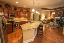 Homes w/ Open Floor Plans / It's time to open things up! These homes have amazing open floor plans that are sure to delight any visitor and be great hosts for entertainment.