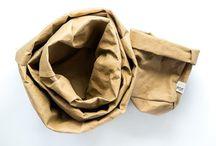 POTPOT / torebki i pudełka z washpapy - washlabe paper washable paper bags