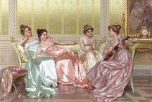 fashion criticism | fashion in paintings