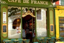 Cafes in Paris / by Christine Hoar