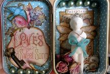 Altered Altoid Tins