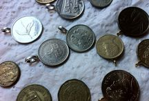 Lucky Lady: Coin Necklaces / See a penny, pick it up... All day long you'll have good luck. Jewelry made from money!
