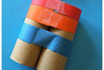 játékok papírból