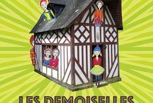 Les Demoiselles de Brimborion / Installation sonore et visuelle de la Femme Lunaire