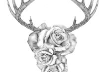 Deer tattoos / by Marque Munger