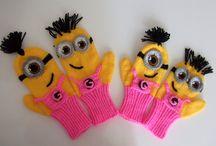minions handskoene