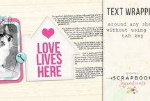 Digital Scrapbooking Tips & Tricks / Learn some new skills with these digital Scrapbooking tips & tricks and tutorials and get inspired to start your next project!