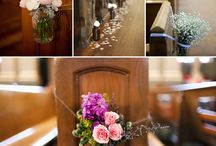 Church wedding decor