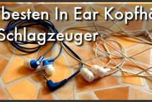 In Ear Monitoring / Headphones / In Ear Monitoring and Headphones for drummers.