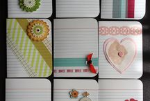 card simil project life con washi