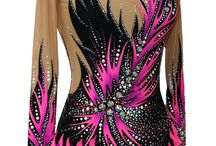 Leotards for Rhythmic gymnastics