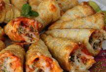Pizze polpette  e focacce
