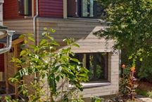 Kirpatrick Addition / Green Hammer collaborated with Nathan Good Architecture to include the mudroom and office addition into a high performance envelope that required no additional heat. Passive House principles were used to maximize the heat losses in the existing house to heat the space while using natural ventilation methods to cool. This addition was the first FSC-COC certified structure in the US. Portland, OR.