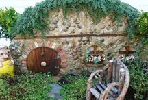 Fairy and Hobbit homes