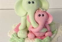 Cute fondant/polymer toppers