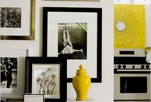 Black, White, and a Little Pop of Yellow