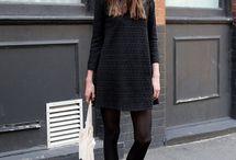 ■black dress