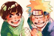 Naruto and Lee
