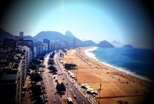 Rio de Janeiro / Praia de Copacabana.