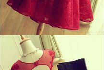 vestidos rojos❤