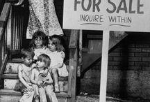 CiTy POOR....tenaments, camps, homeless, destitute