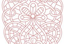 cutwork  pattern