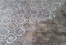 stencilled floors
