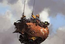 Interplanetary extraordinary craft...