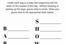 Ems baby shower / baby shower