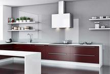 Okapy przyścienne / #okapykuchenne, #kuchnie, #wyciągi