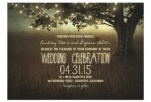 Rustic Wedding Invitations / Professional Rustic Wedding Invitations with a WOW Factor.