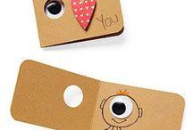 Papelaria / Envelopes, cartões, tags, papel de carta