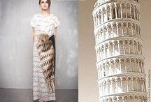Платье Пизанская башня