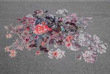 Fabrics in our shop. / Fabrics in our shop.