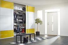 Hallway / Elfa is offering flexible interior products and made to measure sliding doors.