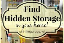 Organizing Closets & Storage