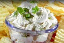 Dips, Sauces and Such / foodie finds with dips, pasta sauces, salad dressings, jazzed up drizzles etc. / by Holly Varvel-Clark