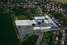 Alukov a.s. v Orli / Výrobní hala společnosti alukov sídlící v Orel 18, 538 21 Slatiňany.