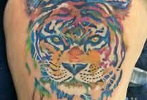 Tiger Tattoo / Made by Bikram Moktan @ Mohan's Tattoo Inn, Kathmandu - Nepal..